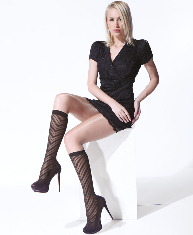 Photos of women in stockings